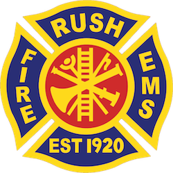 Rush Fire Department Logo